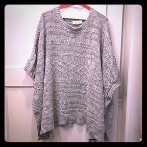 Vince Camuto sweater poncho